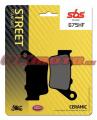 Zadní brzdové destičky SBS 675HF - Yamaha Ténéré 700, 700ccm - 19-20