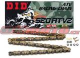 Řetěz DID - 520ATV2 - X-ring - 86 článků-zlatý