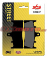 Přední brzdové destičky SBS 686HF - Suzuki GSX 1300 R Hayabusa, 1300ccm - 99-07