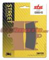 Přední brzdové destičky SBS 686HS - Suzuki GSX 1300 R Hayabusa, 1300ccm - 99-07