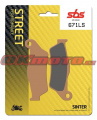 Zadní brzdové destičky SBS 671LS - Ducati 1260 Multistrada Enduro, 1260ccm - 19-19