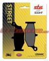 Zadní brzdové destičky SBS 833HF - Suzuki GSX 1300 R Hayabusa, 1300ccm - 08-18