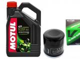 MOTUL 5100 4T 10W-40 MA2 - 4L + olejový filtr Vesrah SF-3009